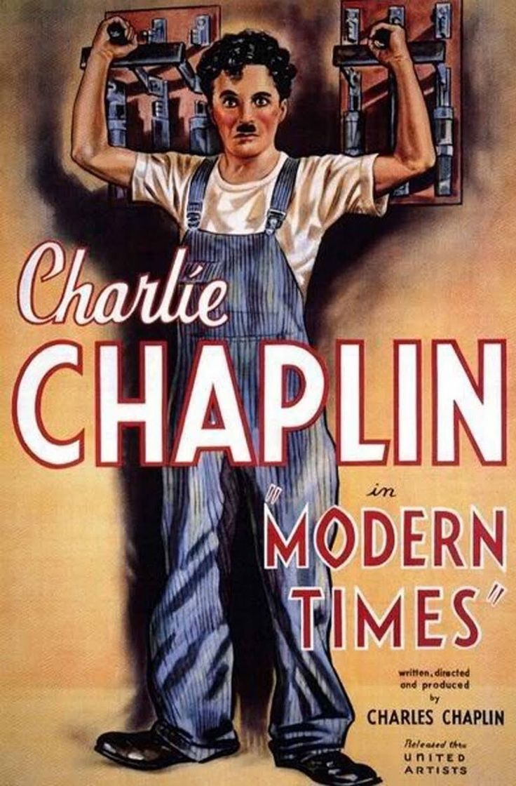 Poster for Modern Times
