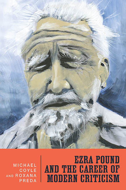 Ezra Pound and the Career of Modern Criticism Cover
