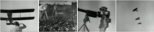 Diverse expressions of cin-aereality in Dziga Vertov's Man with A Movie Camera, 1929.