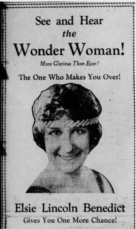 """""""See and Hear the Wonder Woman!"""" The Los Angeles Times, February 21, 1929, 4."""