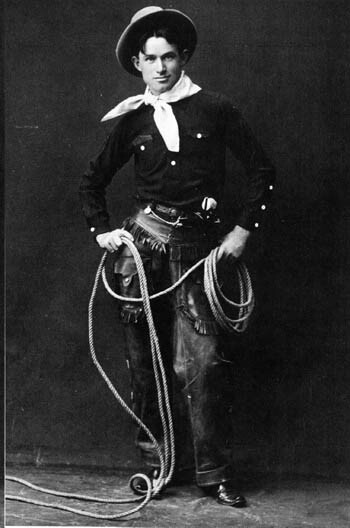 Will Rogers, photograph taken before 1900