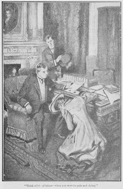 """The Intrusion of the Personal"" illustration, Western Home Monthly, September 1910, 13."