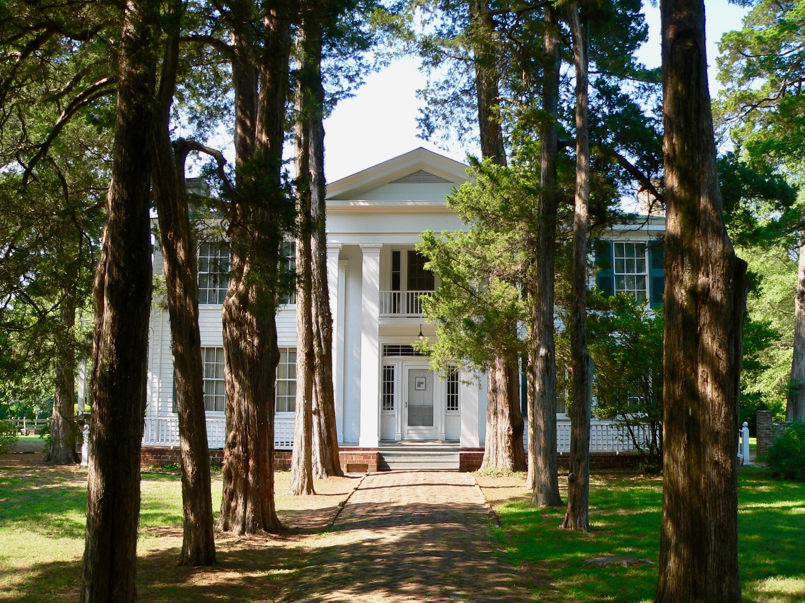 William Faulkner's home, Rowan Oak, in Oxford, Mississippi.