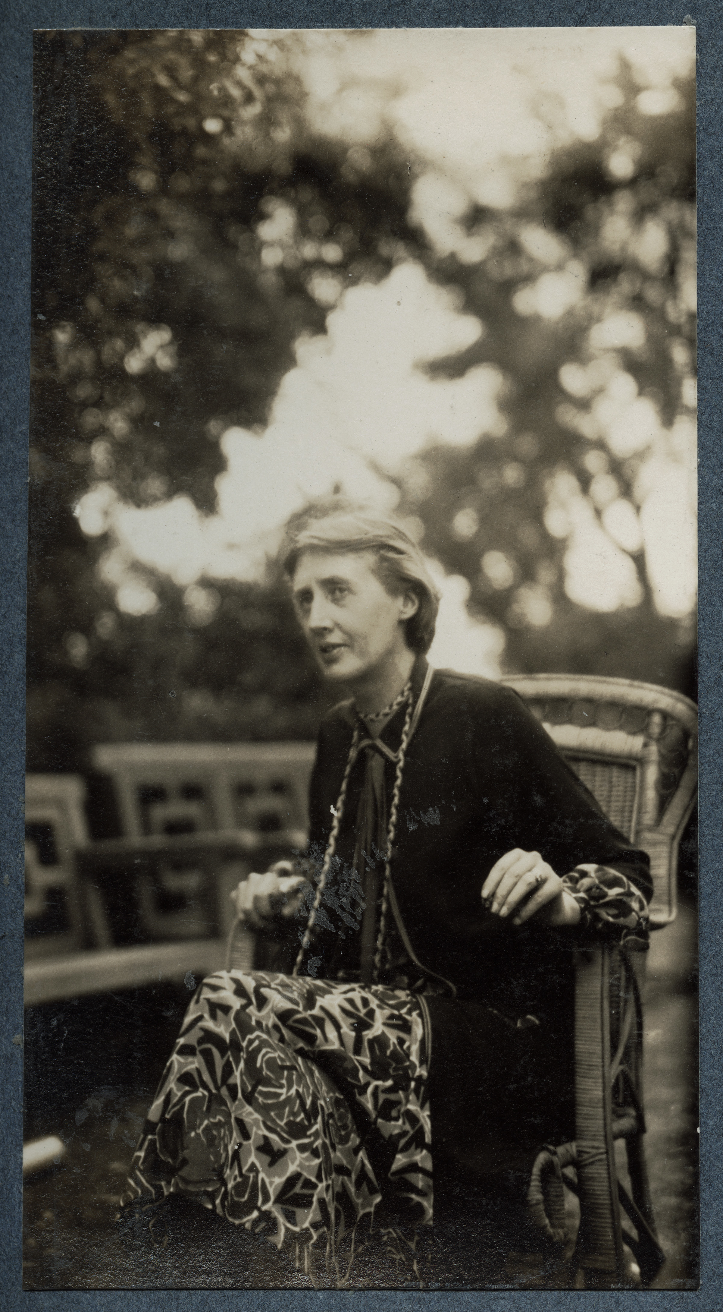 Virginia Woolf, photograph by Ottoline Morrell, 1926