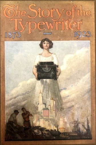 Cover of The Story of the Typewriter