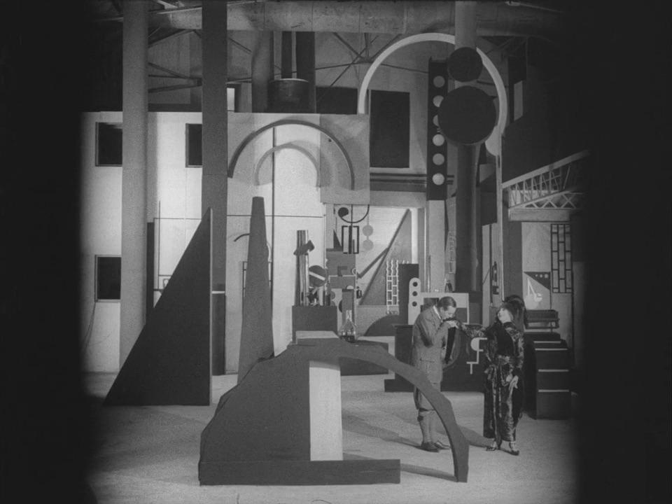 Stylized machinery. L'Inhumaine directed by Marcel L'Herbier.