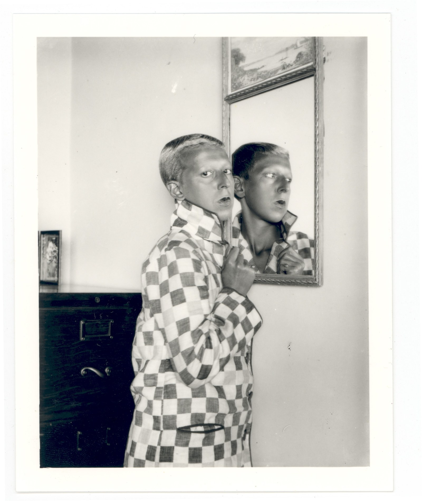 Claude Cahun, Self-Portrait with Mirror, 1928. Courtesy of the Jersey Heritage Collections.