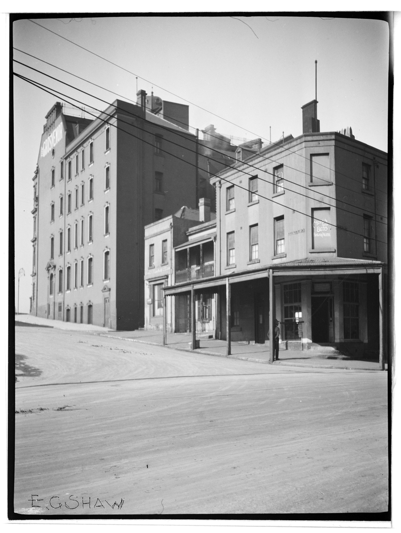 E. G. Shaw, Southeast corner Grosvenor and Kent Streets