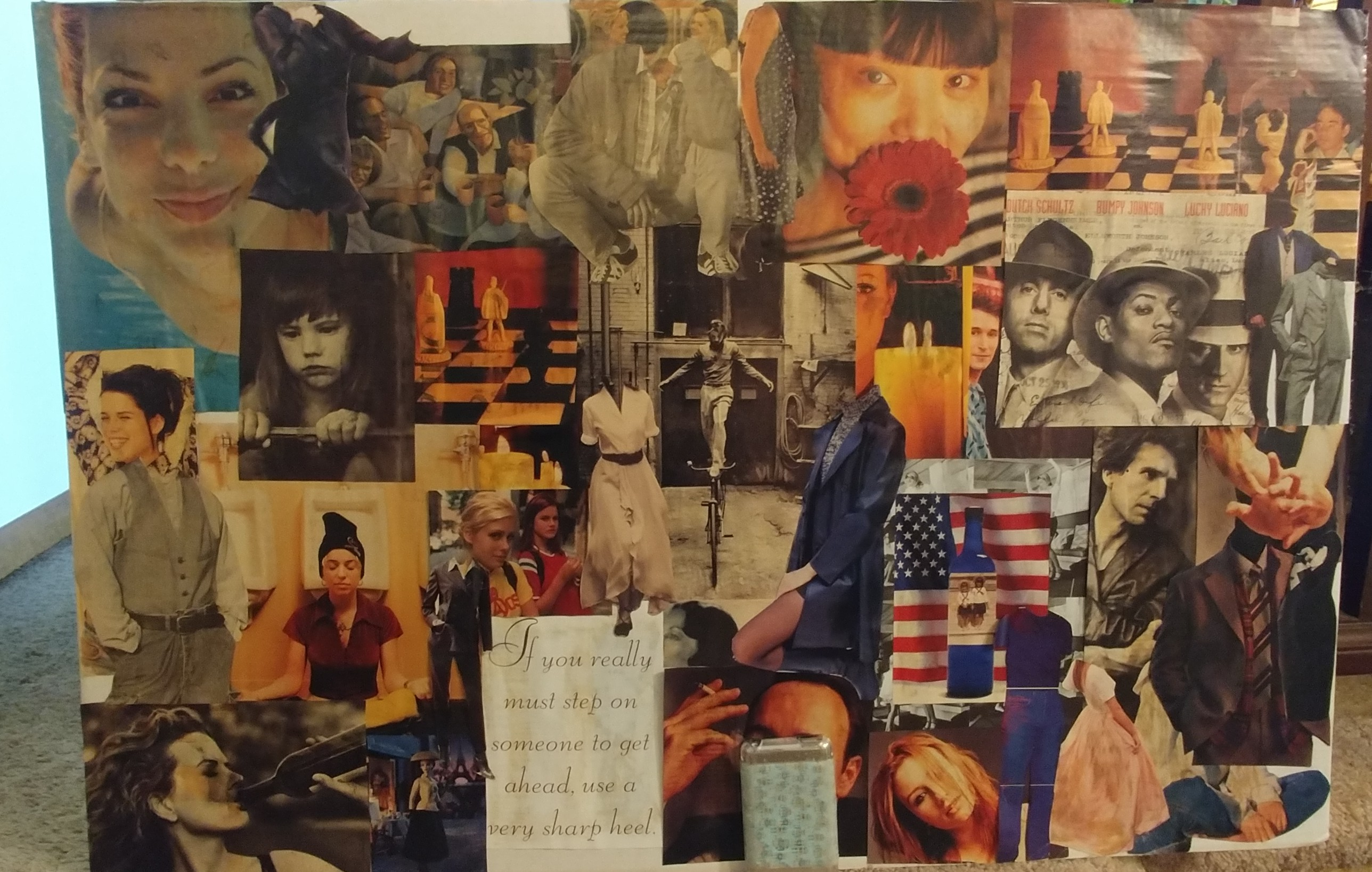 "Cheryl Werber, ""Teenage Collage"""