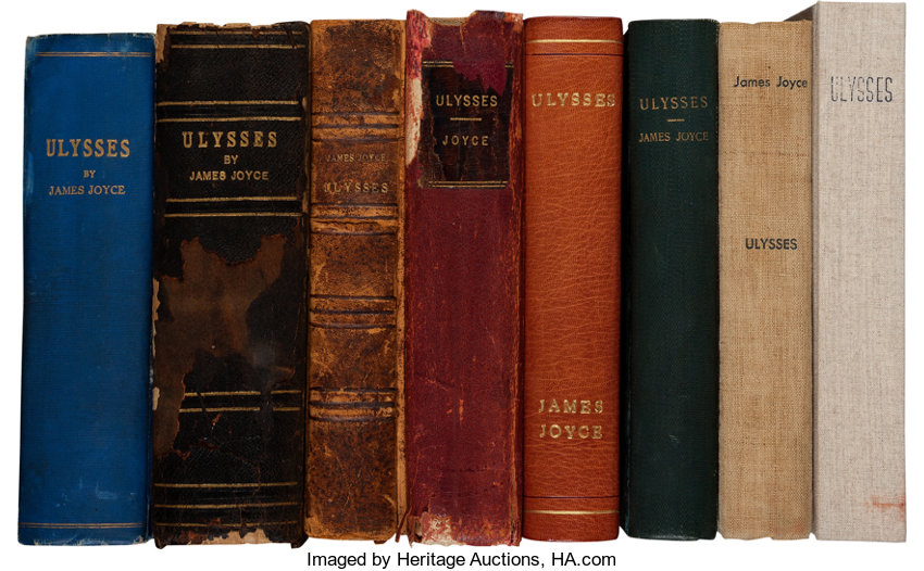 Ulysses Book Spines
