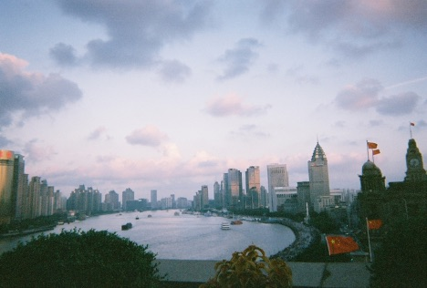 View from balcony of Shanghai's Palace Hotel (now Peace Hotel), summer 2018