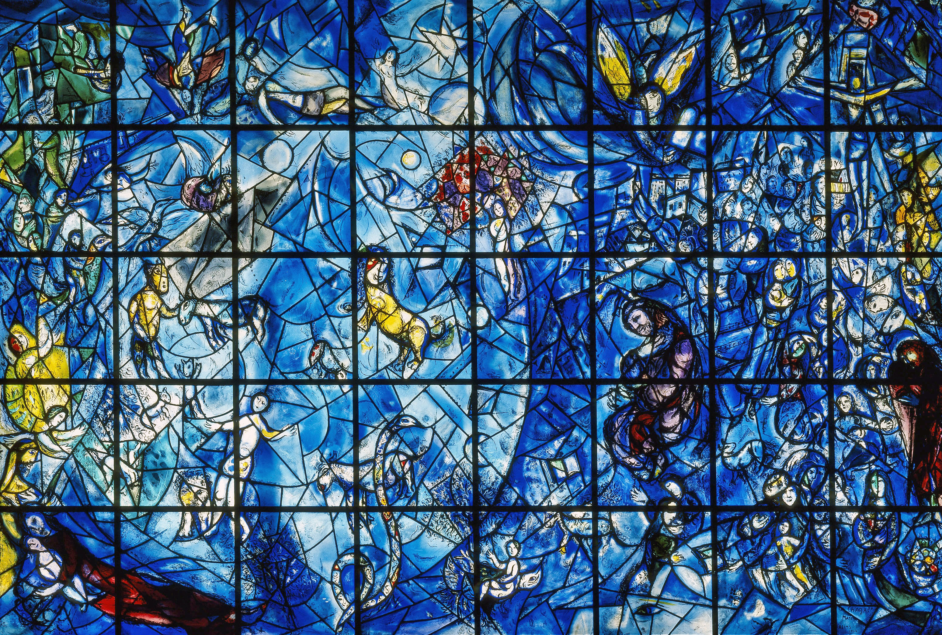 Marc Chagall, Peace Window, 1964.