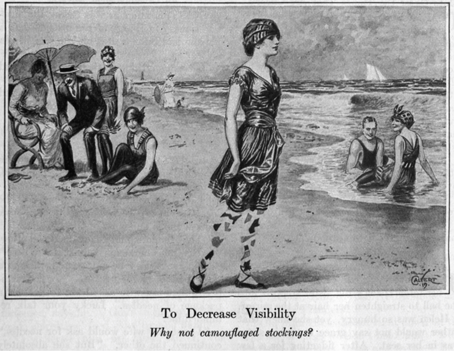 """To Decrease Visibility,"" Harper's Magazine, September 1919."