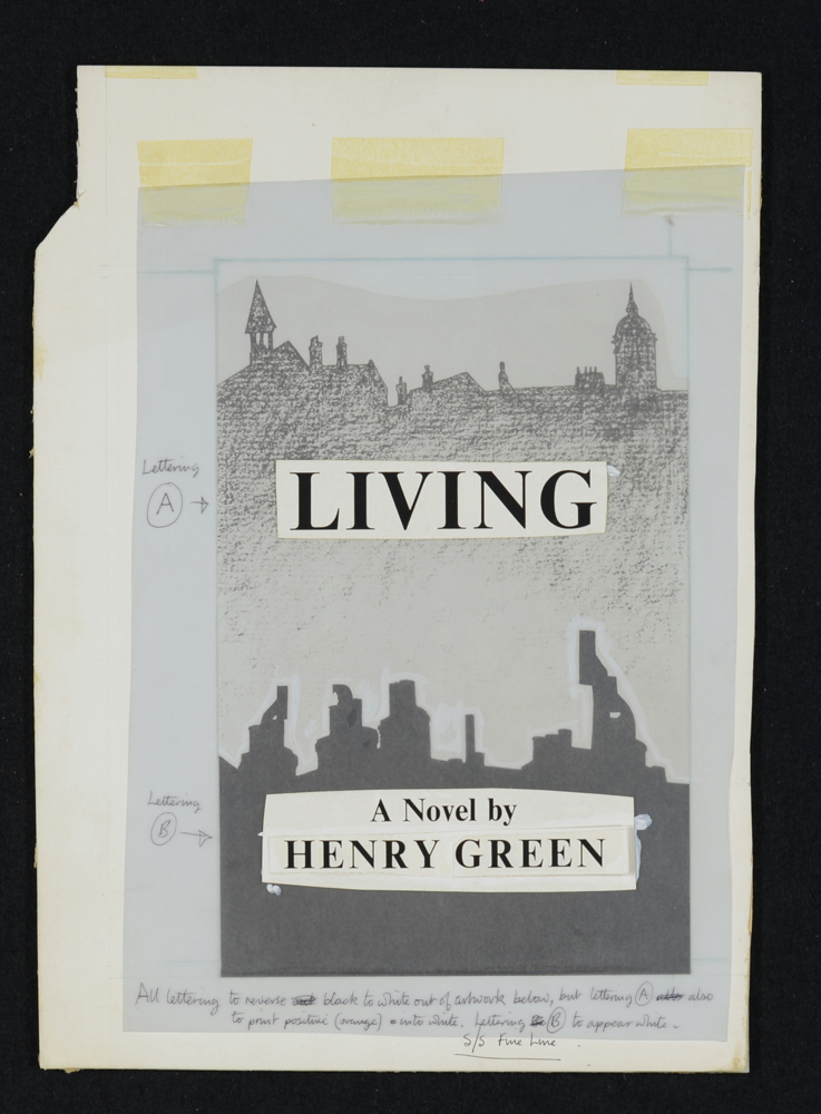 From Living by Henry Green published by Chatto and Windus.