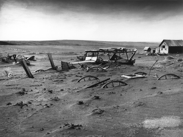 Dust Bowl, Dallas, South Dakota, 1936.