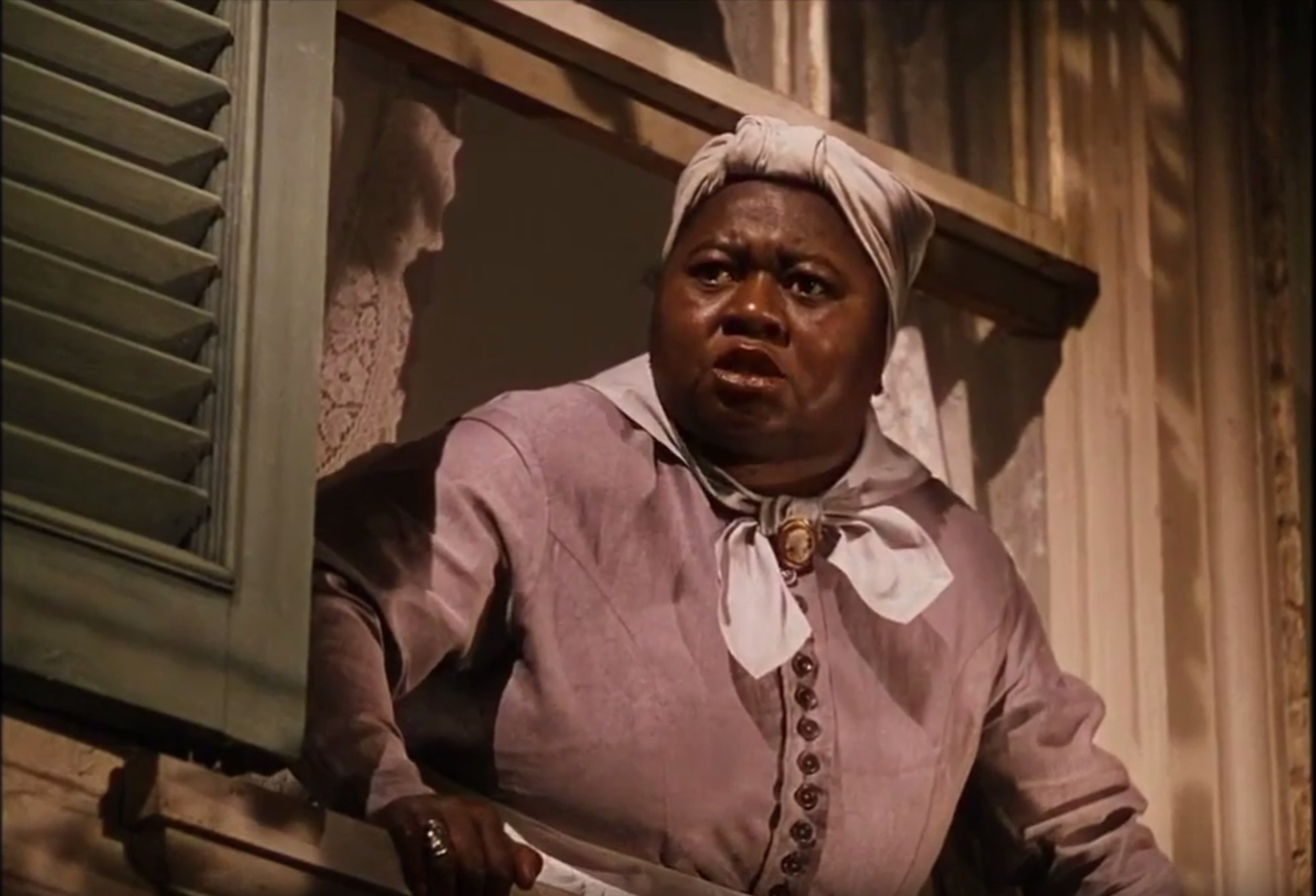 Hattie McDaniel as Mammy in Gone with the Wind.