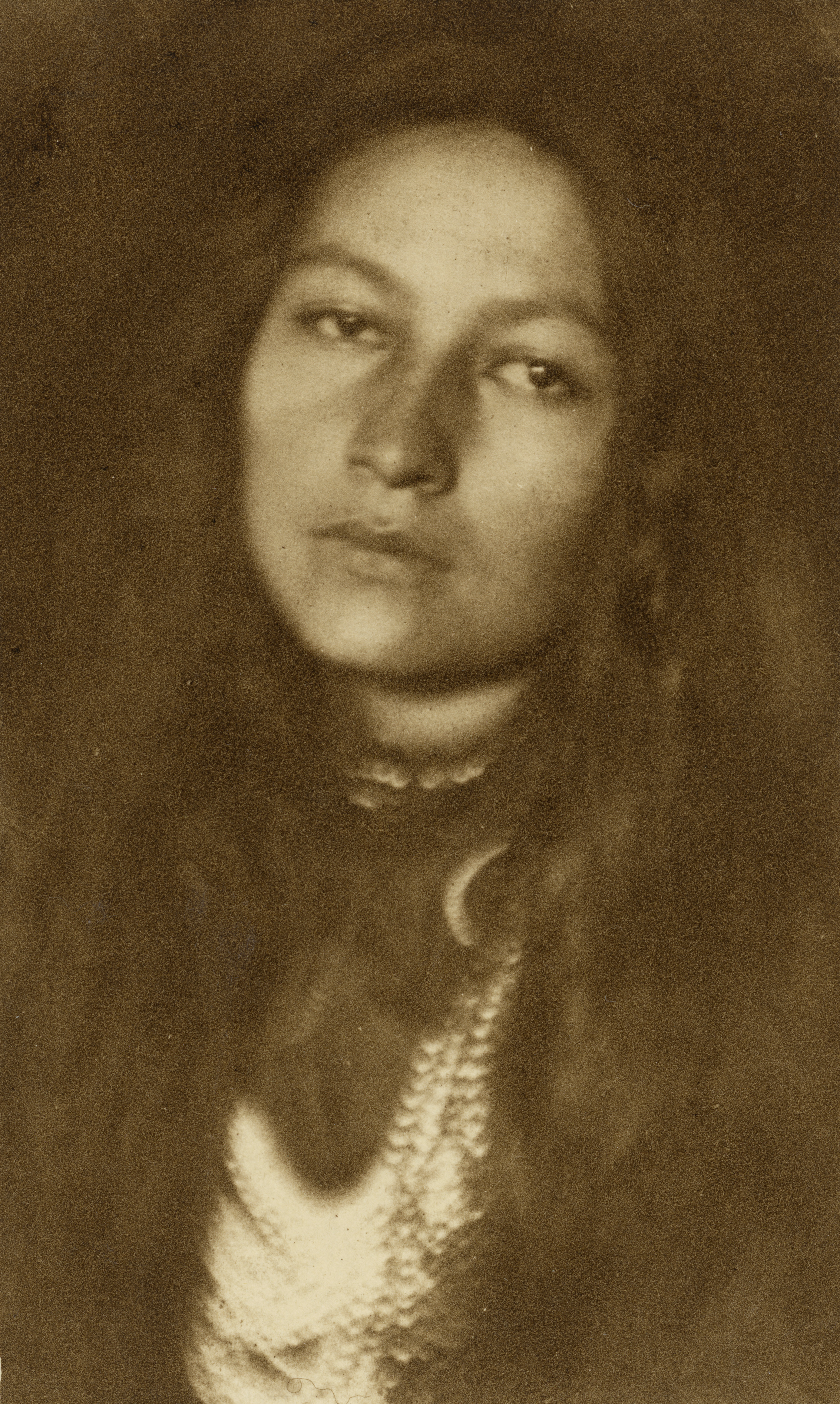 Zitkala-Ša, 1898. Photograph by Joseph T. Keiley. Image courtesy National Portrait Gallery, Smithsonian Institute.