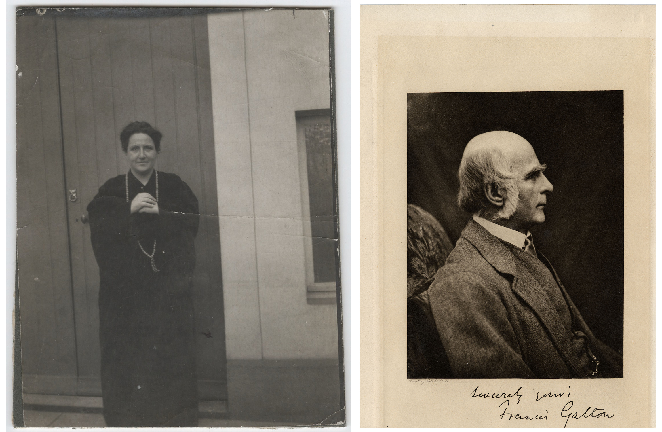 Gertrude Stein and Francis Galton