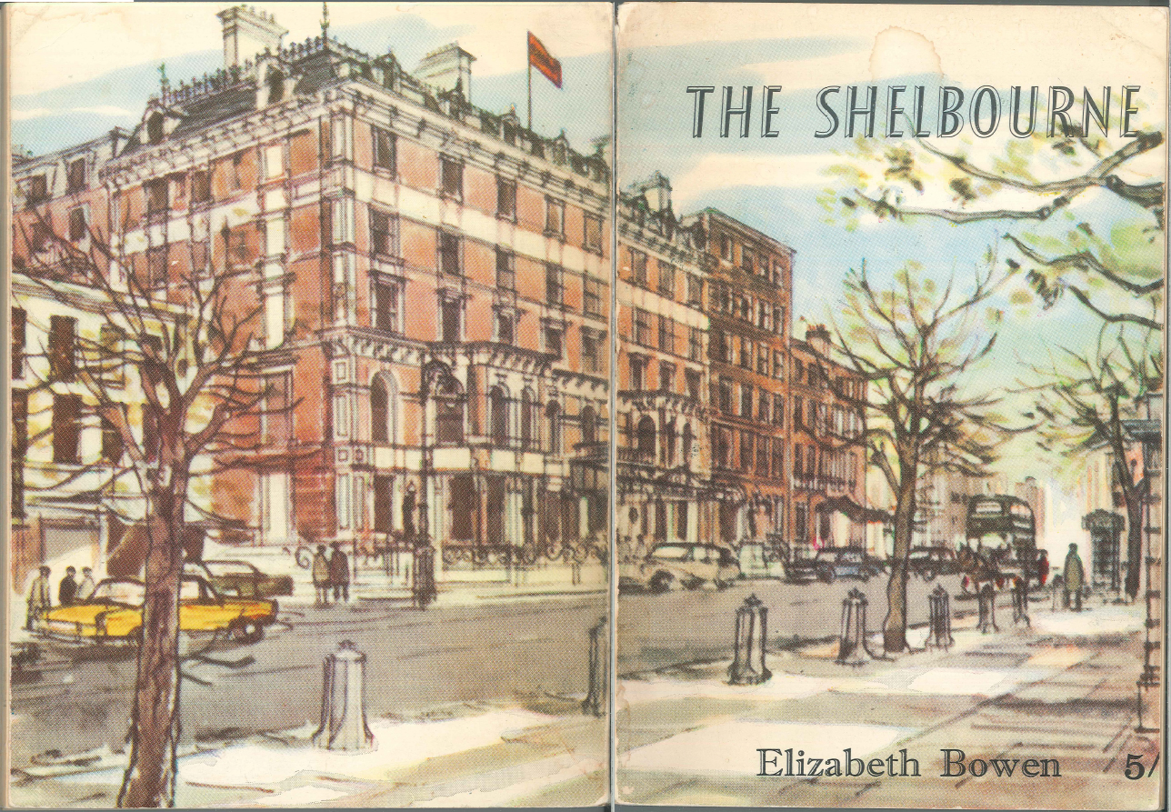 Cover of Elizabeth Bowen's The Shelbourne (1951).