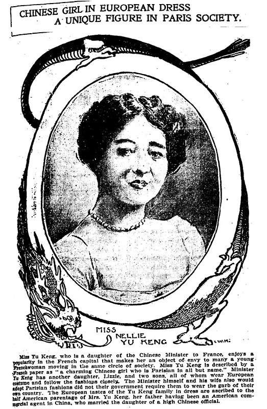 Media coverage of Yu Rongling, c. 1902.