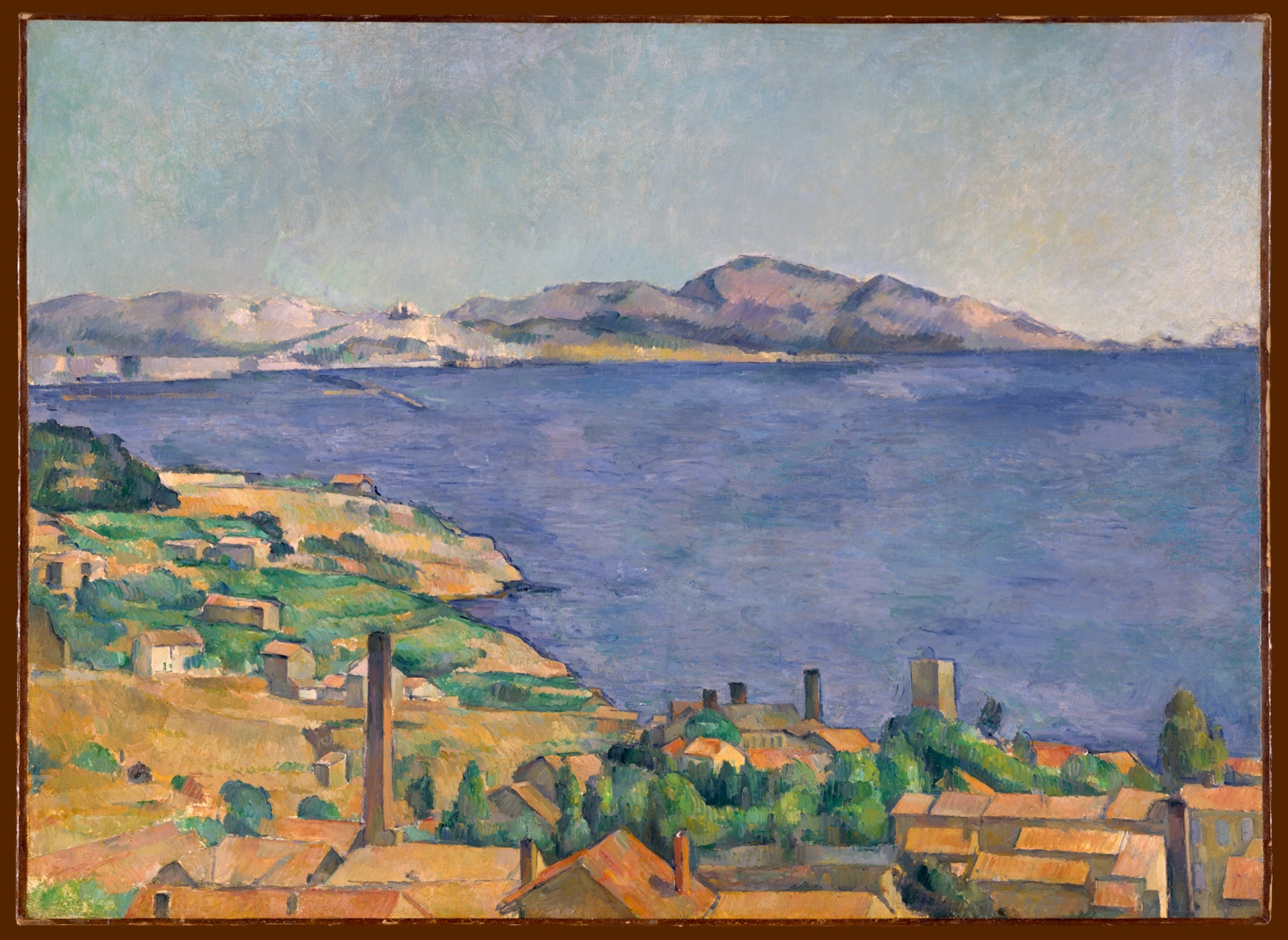 Cezanne, The Gulf of Marseilles Seen from L'Estaque