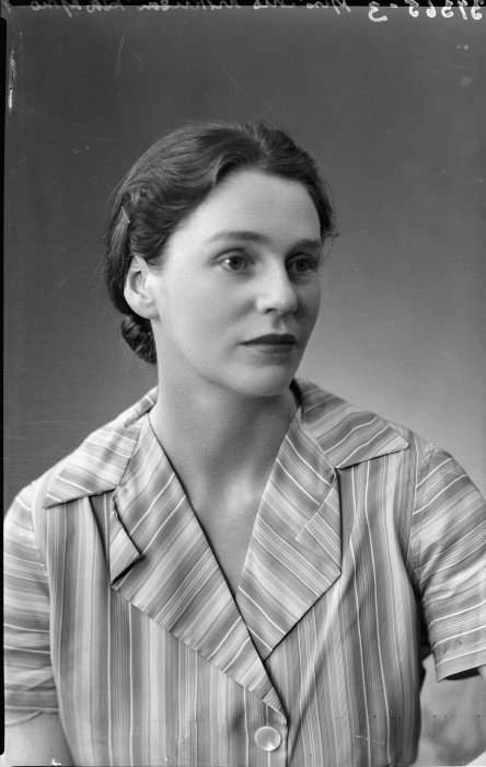 Robin Hyde, also known as Iris Guiver Wilkinson, on November 4, 1936.