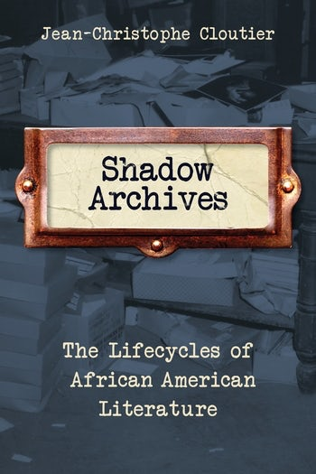 Cloutier, Shadow Archives cover