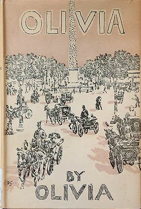 Cover of Olivia, 1st edition (1949), Hogarth Press.