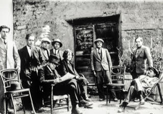 The Peralta siblings in Puno, c. 1930.
