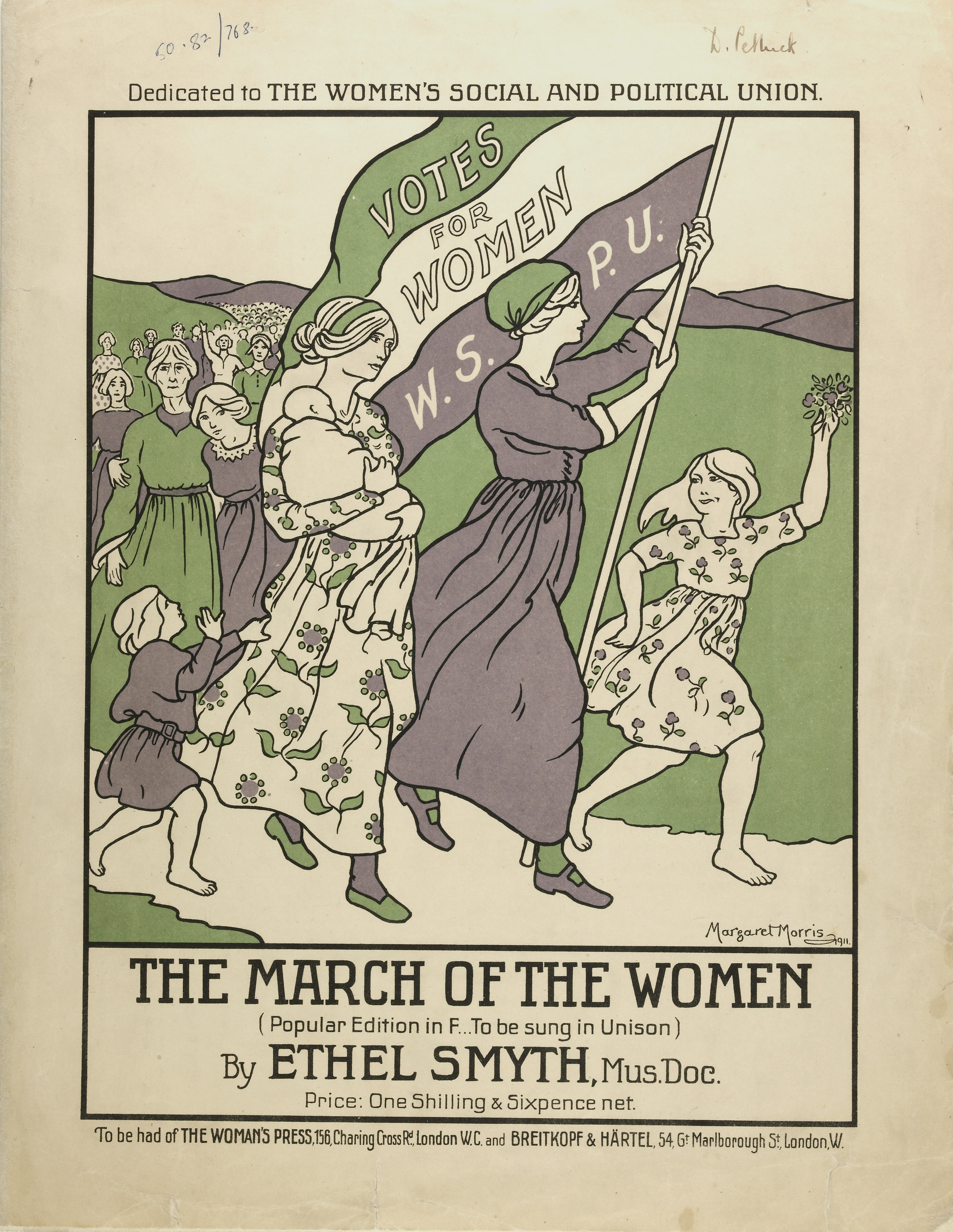 The March of the Women, 1911.