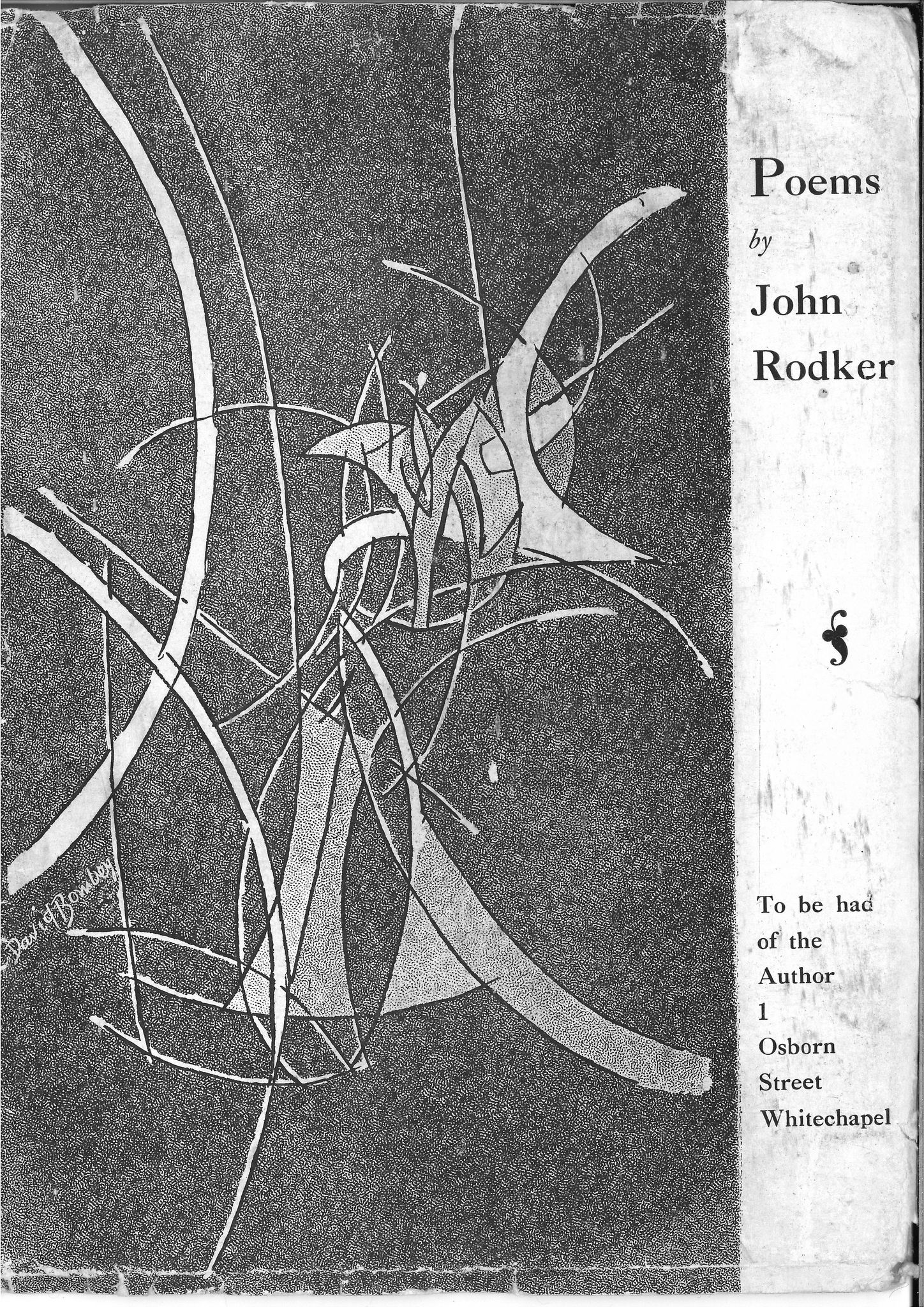 Cover of John Rodker's Poems