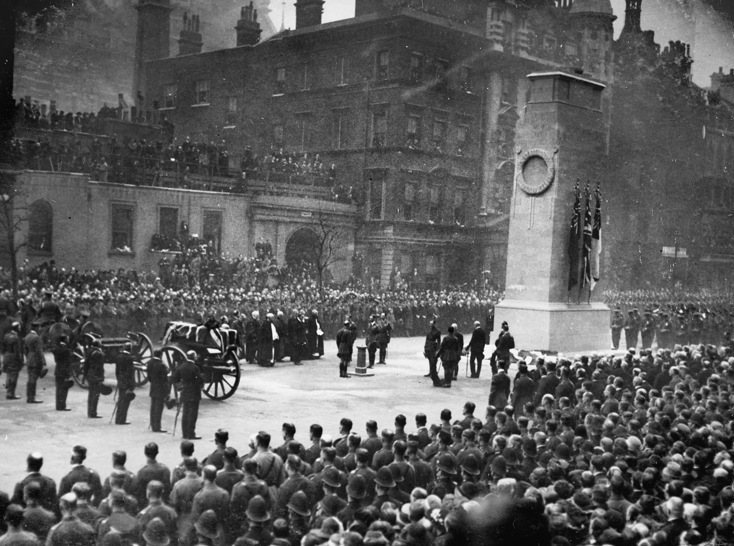 Arthur Crane, Unveiling of the Cenotaph and the Funeral of the Unknown Warrior, Armistice Day, 1920