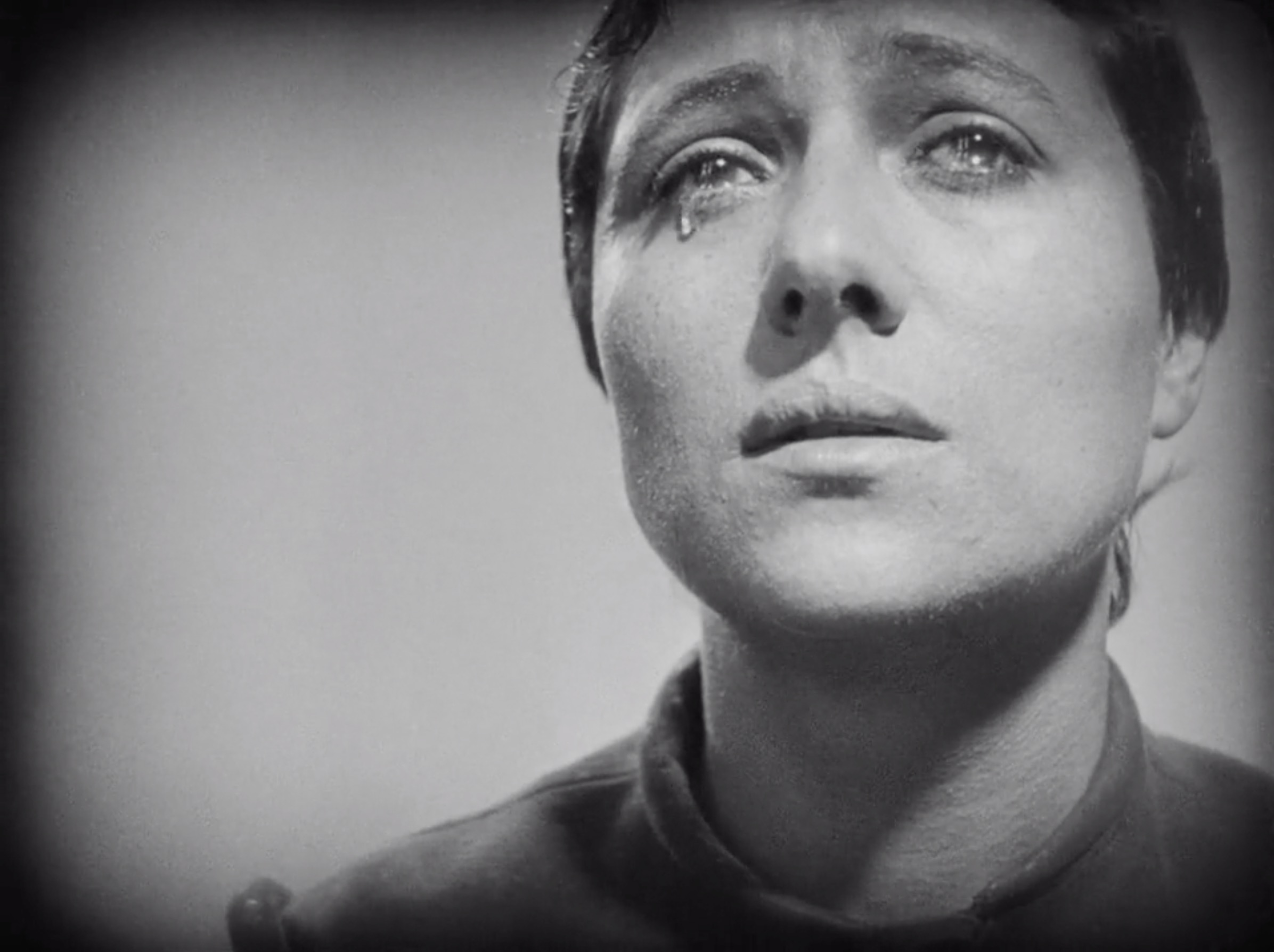 Still from Carl Dreyer, The Passion of Joan of Arc (1928)