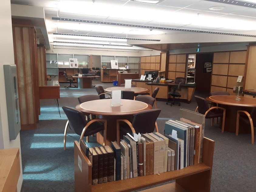 Special Collections, McPherson Library, University of Victoria. Photograph by the author.