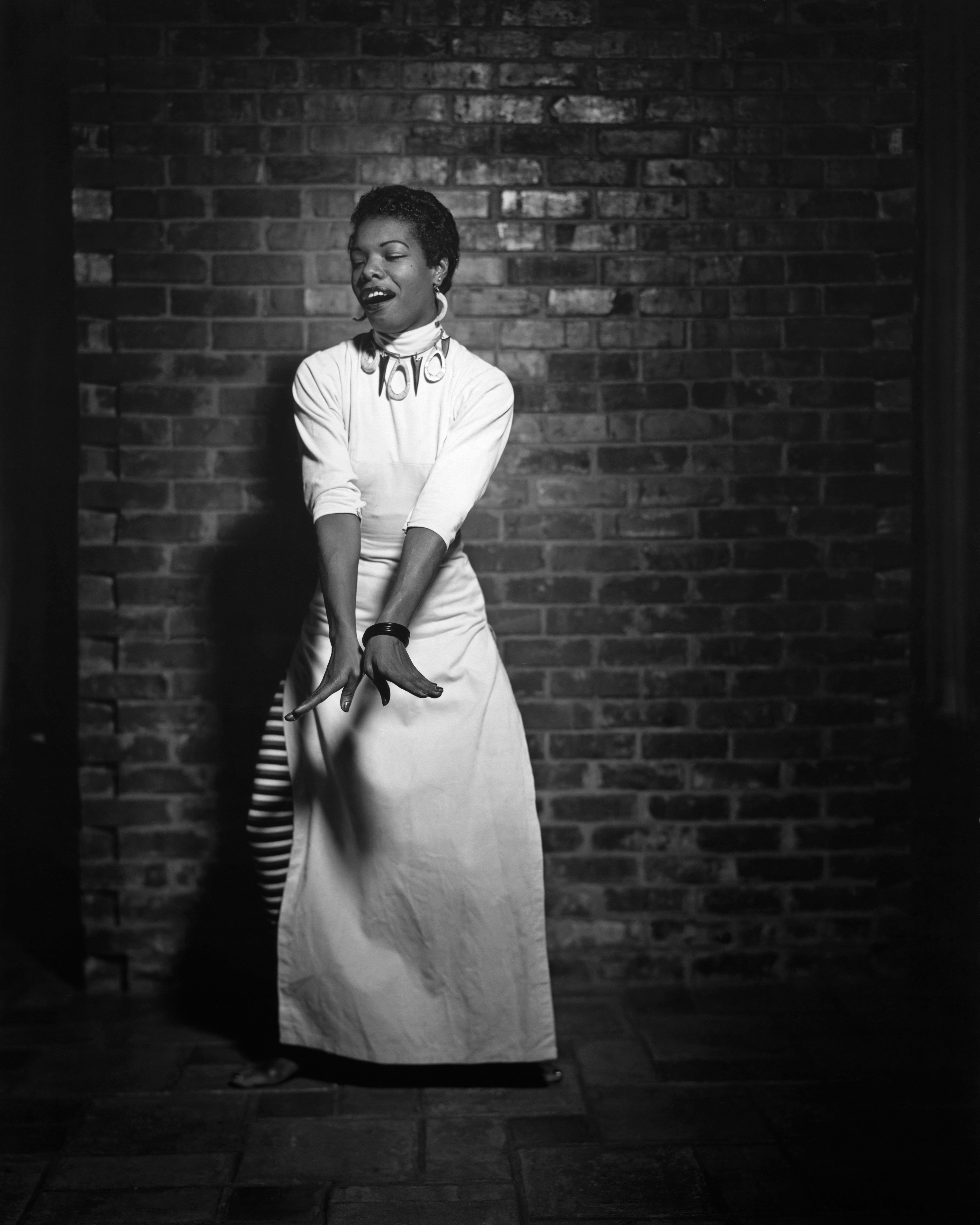 Photograph of Maya Angelou.