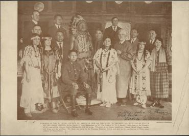 Members of the National Council of American Indians, Washington, D.C., March 9, 1926
