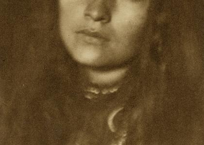 Zitkala-Ša, 1898. Photograph by Joseph T. Keiley.